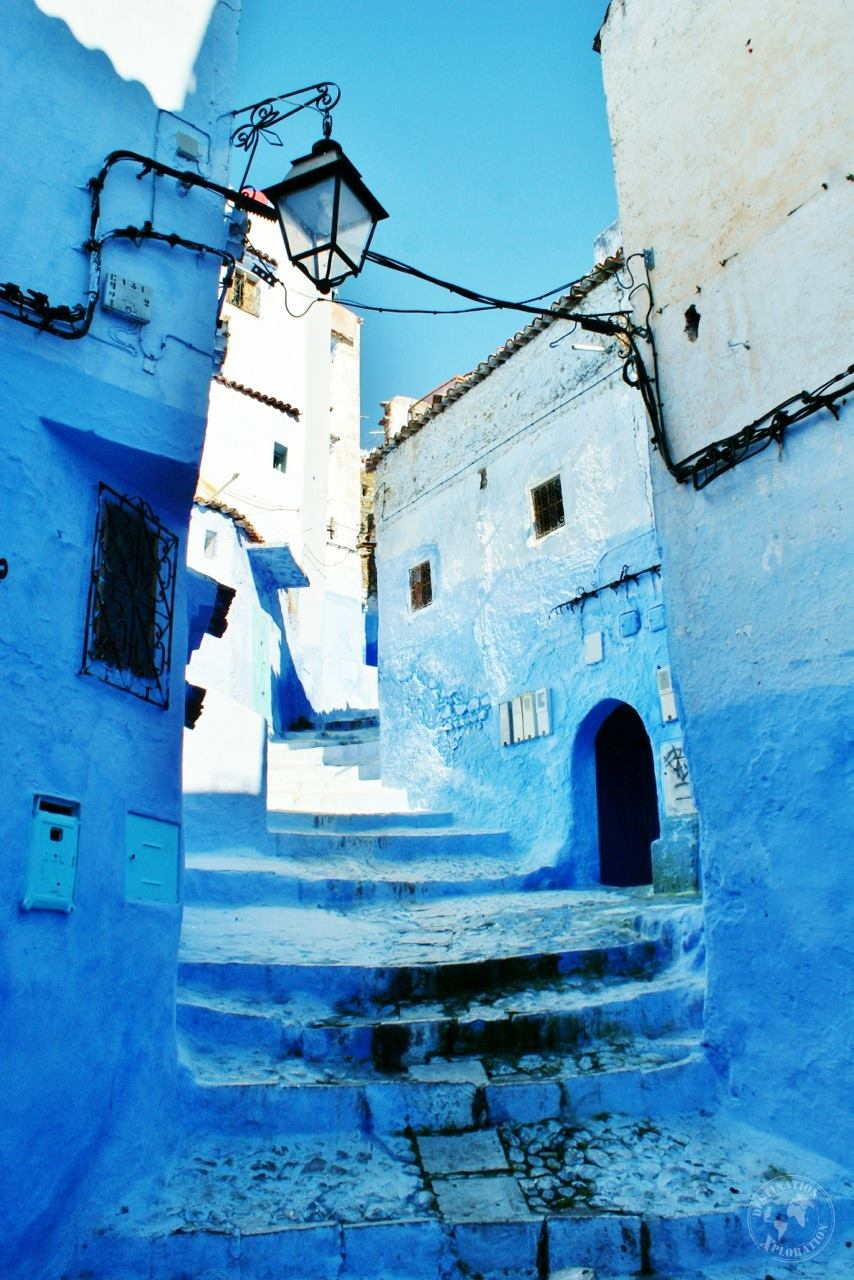 Morocco's labyrinth of Blue: Chefchaouen