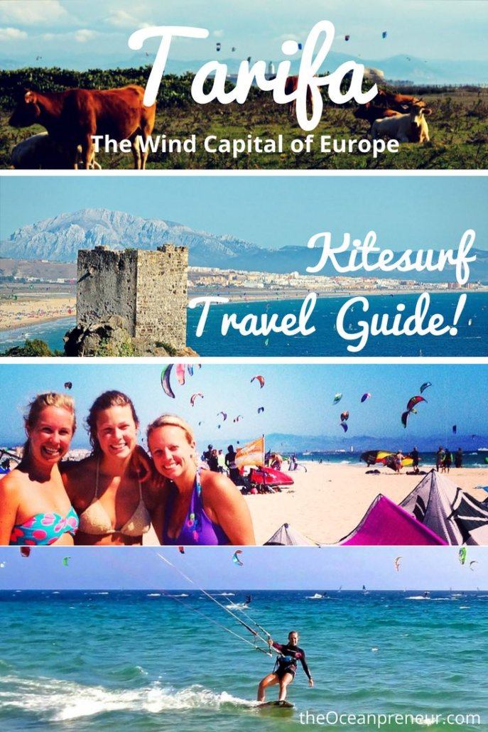 Complete guide on Kitesurf trip to Tarifa Spain