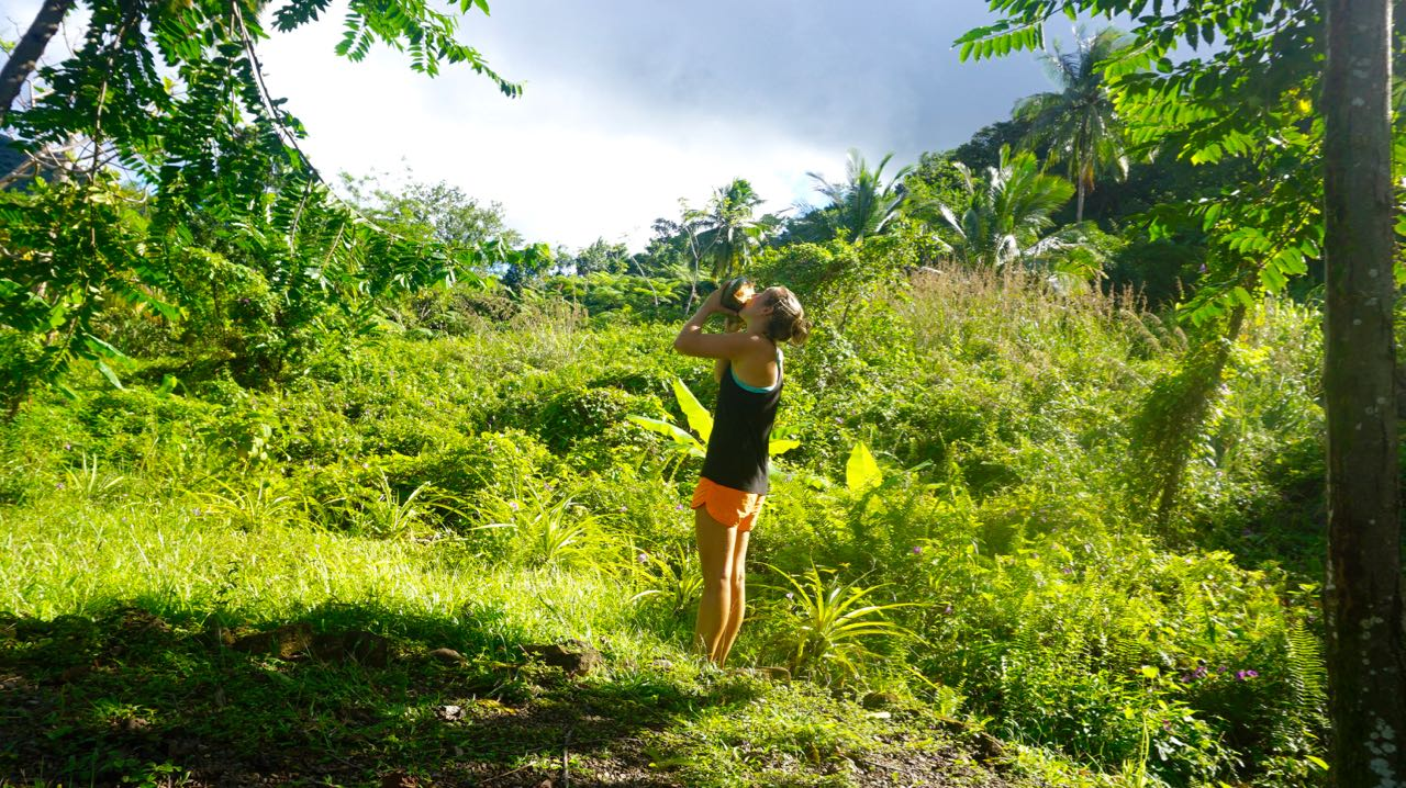 Becoming a wilderness women: Off the grid eco camp in Dominica