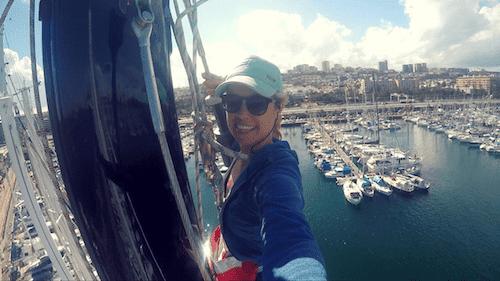 Atlantic Ocean Boathitchhikers in Las Palmas Marina Canary Islands