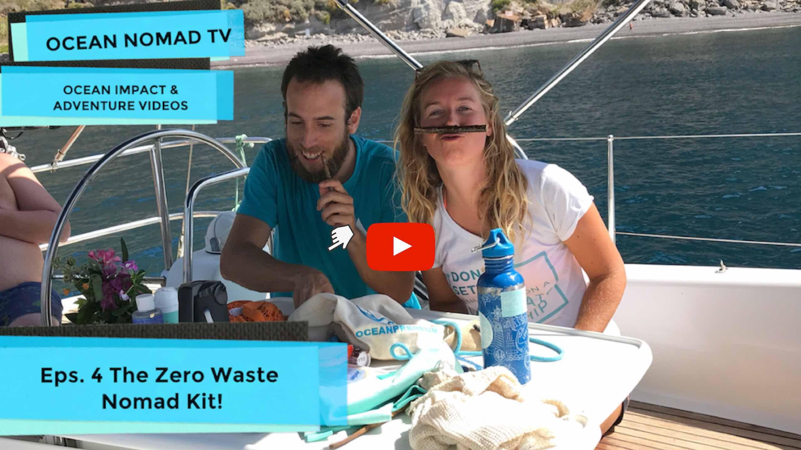 What's in my zero waste travel kit?